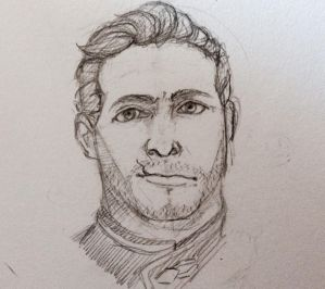 Cullen Sketch by Turtle-Brownie