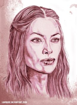 Cersei Lannister by Lohrack