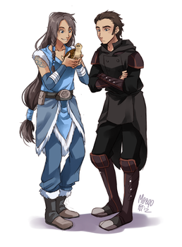 SC Sui and Noatak by meago