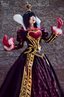 Red Queen II by EnchantedCupcake