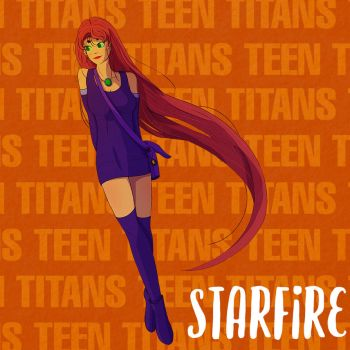 Starfire - Young Titan by Markistic