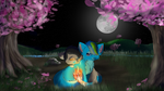 By The Cherry Trees by Squigmunks