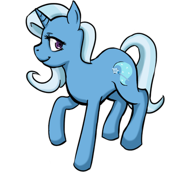 The Great and Powerful Trixie by Yappano