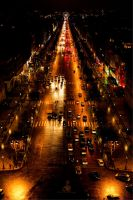 Avenue des Champs Elysees by 57digitalz