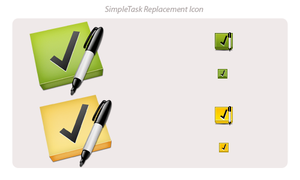 SimpleTask Replacement Icon by Davinness