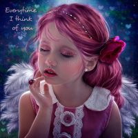 Everytime I think of you by EstherPuche-Art
