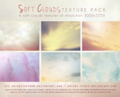 Soft Clouds Texture Pack by artori-stock