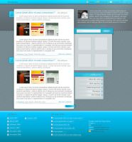 wordpress theme by gushat by GushaT