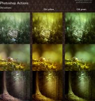 Photoshop Old Actions by aoao2