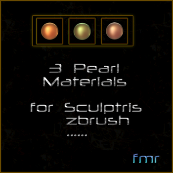 fmr - 3 Sculptris Materials - Pearl by fmr0