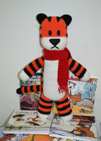 Hobbes Plush Amigurumi by MiaHandcrafter