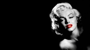 Marylin Monroe Red Lips by codebly