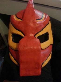 Predator mask/Princess Mononoke colours by killerkeji