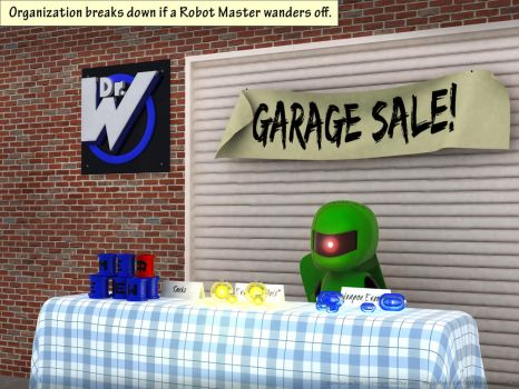 Gate Garage Sale by UnexpectedToy
