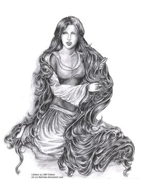 Luthien Tinuviel by Mellime