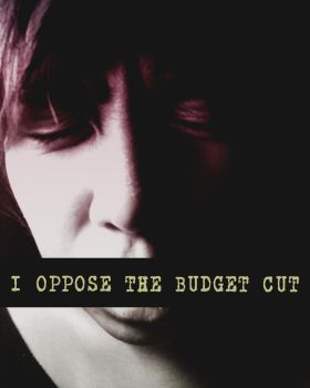 I OPPOSE THE BUDGET CUT by hapipatatas