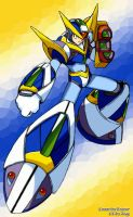 MegamanX Glide Armor - Eriance by Zeag