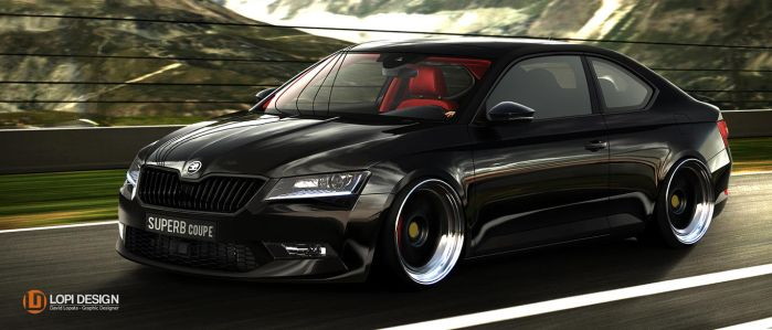 SKODA SUPERB COUPE by Lopi-42