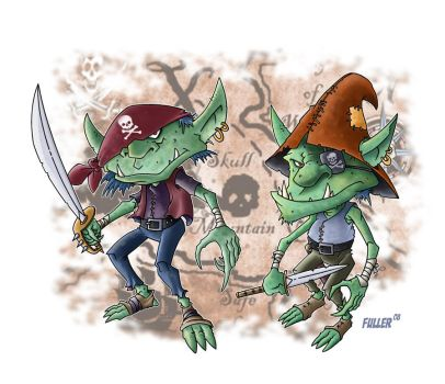 GOBLIN PIRATES by Chadfuller