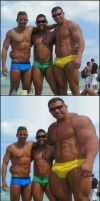 Muscles at the beach 2 by necryll