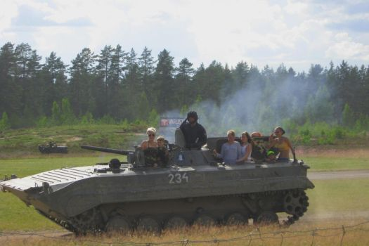 BMP-1 amphibious Infantry Fighting Vehicle by perttime