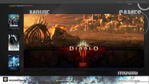Web interface Funs diablo III by ROXORSDesign