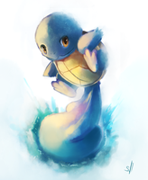 Squirtle Painting