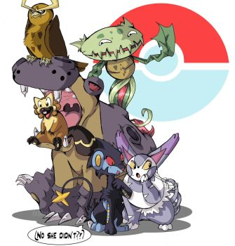 Let's Beat the Elite Four by TamarinFrog