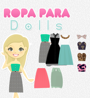 Ropa para Dolls (Pacific Doll) by LovelyDollResources