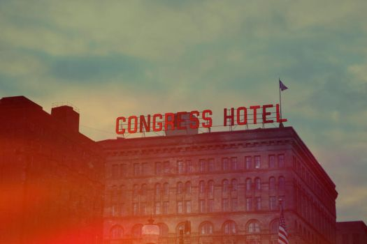 Congress Hotel by PinkyDagger