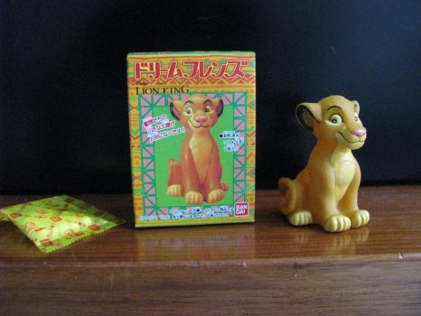 TLK collection: Dream Friends Simba Figure by kary218