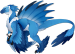 [COM] Sapphire The Raptor-ish by Solar-Paragon