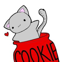 Cookie Cat by thoughtless4ever