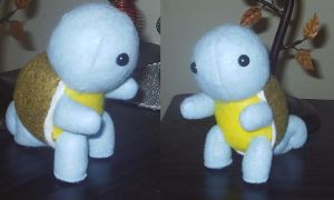 Squirtle Plushie Commission