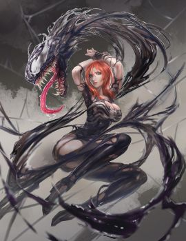 Venom Mary Jane by CGlas