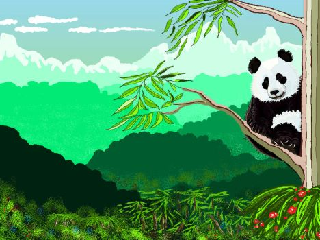 Welcome to my Pandahome by Patternintheivy