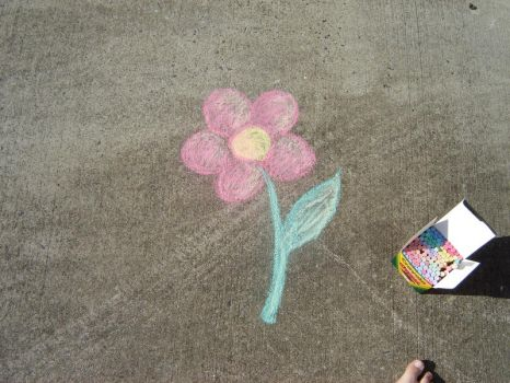 Driveway Flower by Mauvaise-Humeur