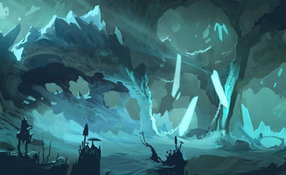 Ice Cove by Exphrasis