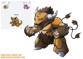 Pokemon Fusion 5 - TAUKING