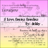 Love Brushes by Johhy