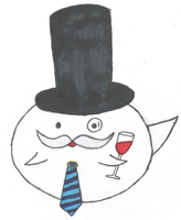 Paper Mario: Sir Boo by sidser