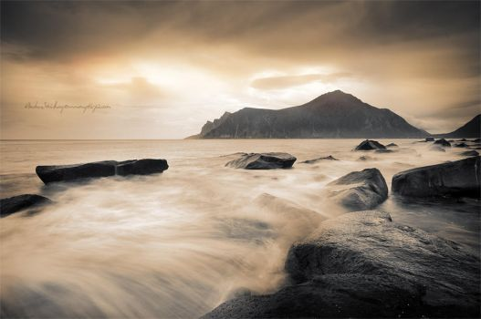 Sepia Sea by Stridsberg