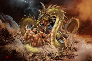 Bhima the mighty by Firnadi