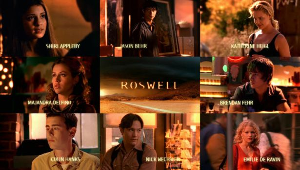 Roswell - Series Cast by Privileg13