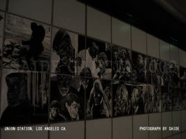 UNION STATION WALL TILES by ArtbySaide