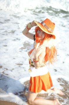 Nami Wakeup by herya-cosplay