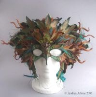 Roots and Wings Mask and Crown by Beadmask