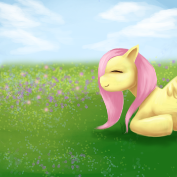 Fluttershy by Meepershoo