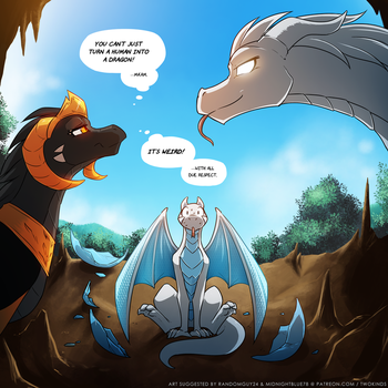 Dragonling Trace Egg by Twokinds