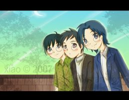 The Kido Brothers by xiaoness by digilife-gallery